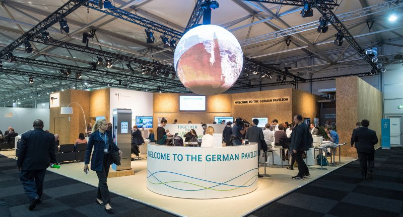 COP23, German, Pavillon, Schneider, Electric