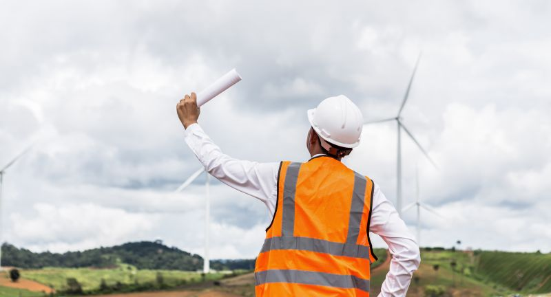 wind, turbine, energy, engineer, power, environmental, environment, renewable, engineering, worker, windmill, man, generator, alternative, people, construction, electricity, industry, green, sky, nature, field, technology, business, industrial, helmet, work, engineers, mill, technician, hardhat, farm, tablet, adult, workers, ecology, project, sustainable, architect, site, safety, woman, portrait, turbines, propeller, male, production, working, asian, person